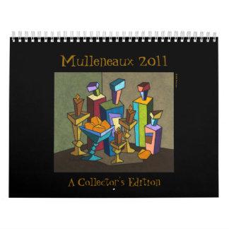 Calendario 2011 de Mulleneaux