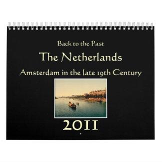 Calendario 2011 - De nuevo al pasado: Los Países