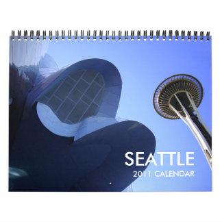 Calendario 2011 de Seattle