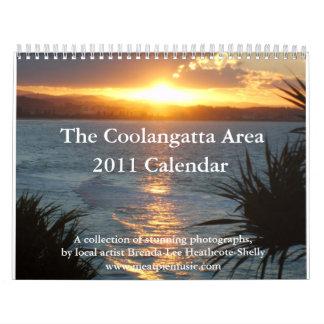 Calendario 2011 del área de Coolangatta