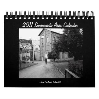 Calendario 2011 del área de Sacramento