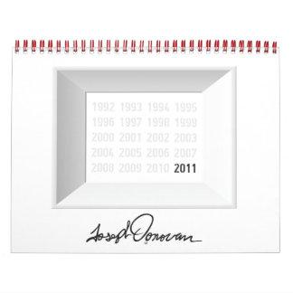Calendario 2011 del arte de Joe