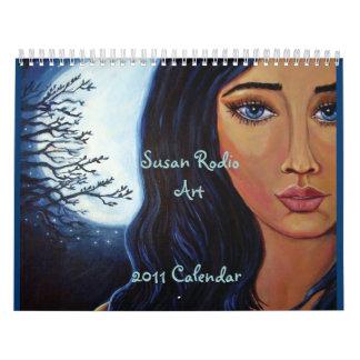 Calendario 2011 del arte de la fantasía por el art