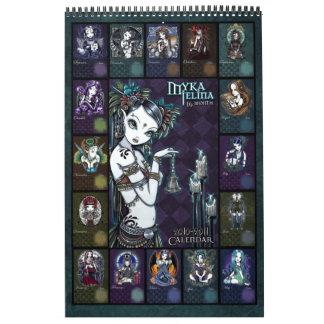 Calendario 2011 del arte de Myka Jelina