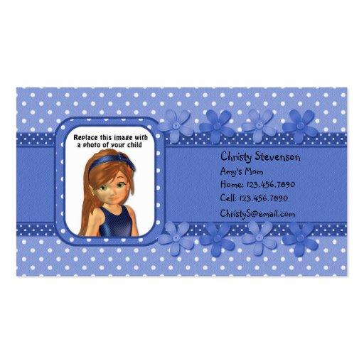 Calendario 2011 del bolsillo de la tarjeta de tarjetas de visita