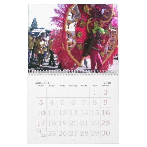 Calendario 2011 del carnaval
