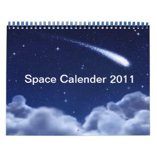 Calendario 2011 del espacio