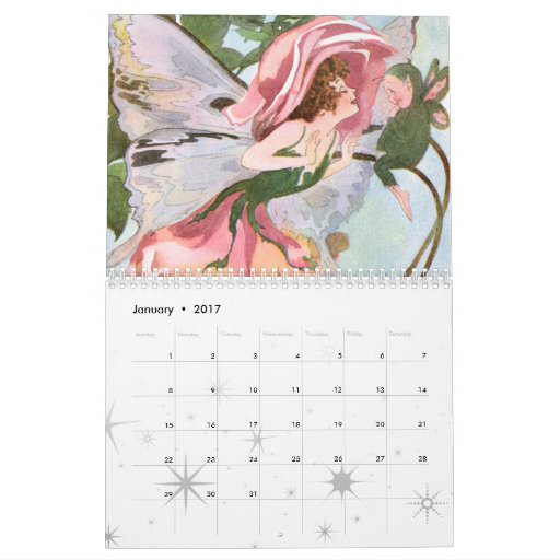 Calendario 2011 del Faerie