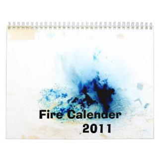 Calendario 2011 del fuego
