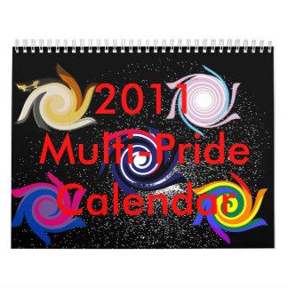 Calendario 2011 del Multi-Orgullo