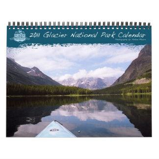 Calendario 2011 del Parque Nacional Glacier