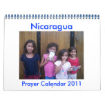 calendario 2011 del rezo de Nicaragua