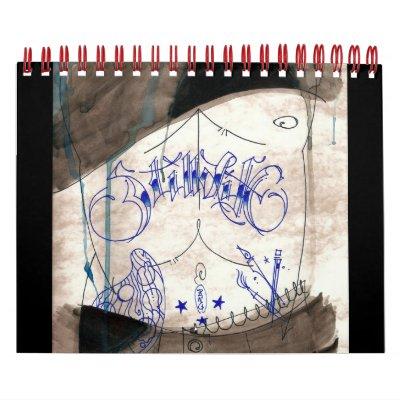 Calendario 2011 del stillLife de AlaDANG