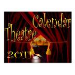 calendario 2011 del teatro postales