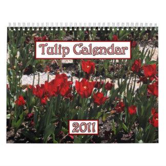 Calendario 2011 del tulipán