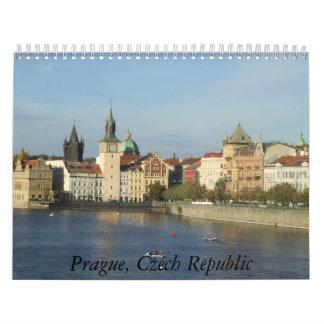 Calendario 2011, fotos de Praga de la República Ch