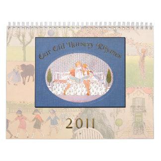 Calendario 2011 - Nuestras viejas poesías