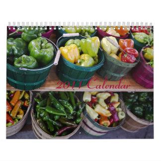 Calendario 2011 - Veggies y fruta