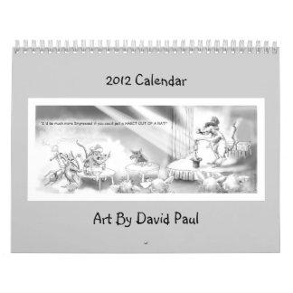 Calendario 2012 con chistes hilarantes