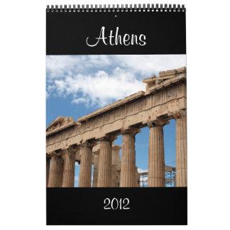 calendario 2012 de Atenas