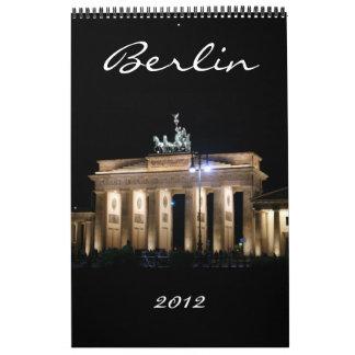 calendario 2012 de Berlín