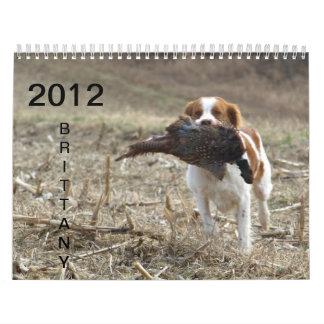 Calendario 2012 de Bretaña