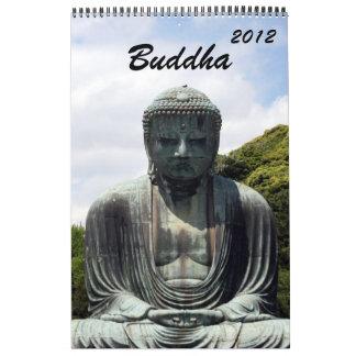 calendario 2012 de Buda