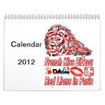 Calendario 2012 de Dan Bizet