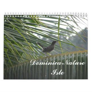 Calendario 2012 de Dominica