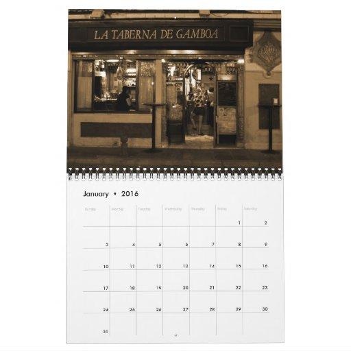 Calendario 2012 de España