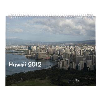 Calendario 2012 de Hawaii