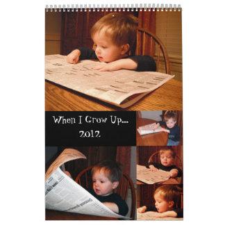 Calendario 2012 de James