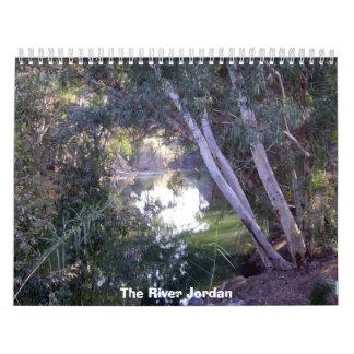 Calendario 2012 de Jordania del río