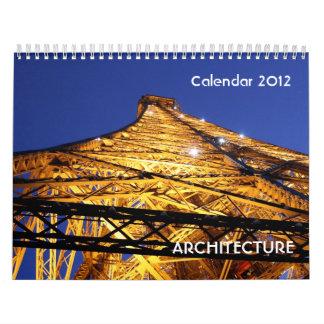 Calendario 2012 de la arquitectura