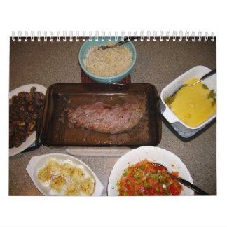 Calendario 2012 de la cocina casera