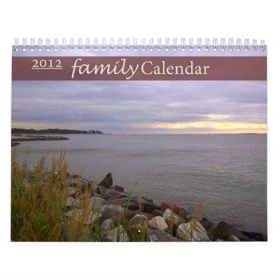 Calendario 2012 de la familia del Timberline