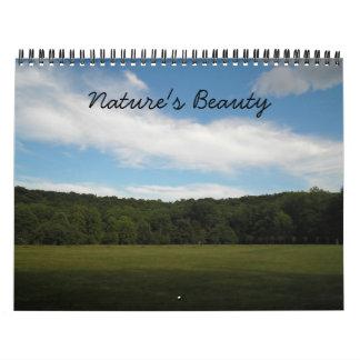 Calendario 2012 de la foto de la belleza de la