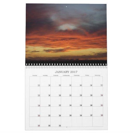 Calendario 2012 de la foto del cielo