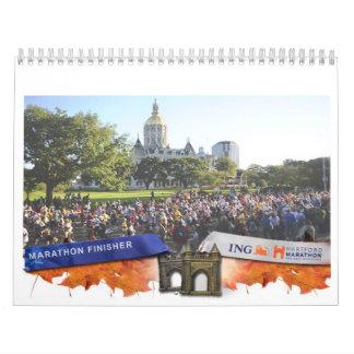 Calendario 2012 de la fundación del maratón de