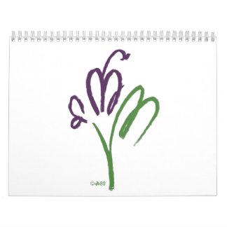 Calendario 2012 de la mascota