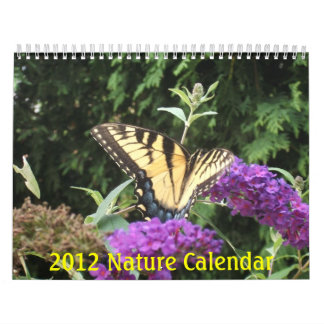 Calendario 2012 de la naturaleza (12 meses)