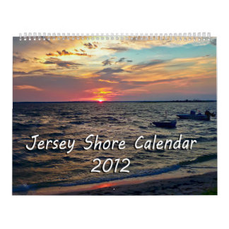 Calendario 2012 de la orilla del jersey