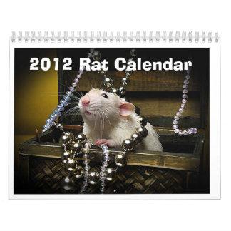 calendario 2012 de la rata