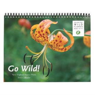 Calendario 2012 de la sociedad de la flor salvaje