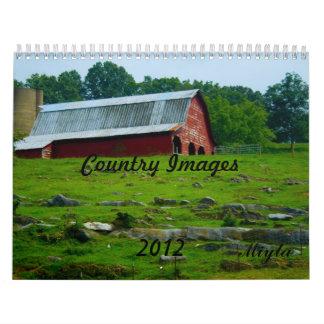 Calendario 2012 de las imágenes del país