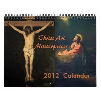 Calendario 2012 de las obras maestras del arte de