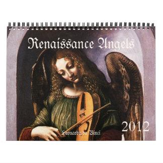 Calendario 2012 de los ángeles del renacimiento