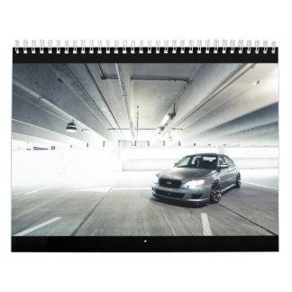 calendario 2012 de los miembros de LegacyGT.com
