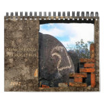 Calendario 2012 de los petroglifos de New México d