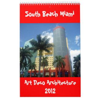 calendario 2012 de Miami